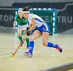 Almere - Zaalhockey Kampong-Push .   Kiki van Wijk.  COPYRIGHT KOEN SUYK