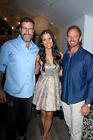 """WEST HOLLYWOOD - JUN 15: Dean McDermott, Erin Ziering, Ian Ziering at the """"At Home with the Zierings"""" Blog Launch Party at Au Fudge on June 15, 2016 in West Hollywood, California"""