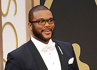 HOLLYWOOD, CA - MARCH 2: Tyler Perry arriving to the 2014 Oscars at the Hollywood and Highland Center in Hollywood, California. March 2, 2014. Credit: SP1/Starlitepics. /NORTePHOTO