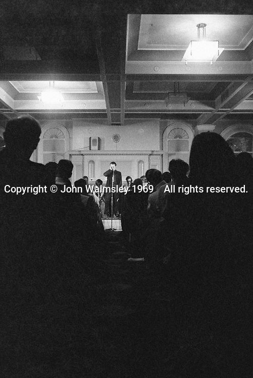at a folk club in London around the late 1960s.  If you can identify the singers or venue, please let me know.