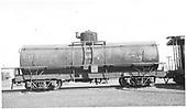 UTLX 13120 tank car.  Renumbered 88006 and 11002 later at Alamosa.<br /> D&amp;RGW  Alamosa, CO  Taken by Maxwell, John W. - 1/8/1946