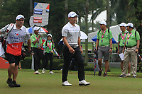 Sunghoon Kang (Asia) on the 6th tee during the Saturday Foursomes of the Eurasia Cup at Glenmarie Golf and Country Club on the 13th January 2018.<br /> Picture:  Thos Caffrey / www.golffile.ie