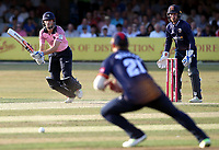 John Simpson in batting action for Middlesex during Essex Eagles vs Middlesex, Vitality Blast T20 Cricket at The Cloudfm County Ground on 6th July 2018