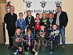 Players from The Ardee Celtic Under 11 with their medals at the Ardee Celtic annual awards night in Ardee parish centre. Photo:Colin Bell/pressphotos.ie