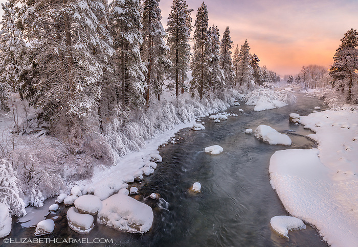 Truckee River Sunrise