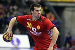 Stevan VUJOVIC. Montenegro vs France: 20-32 - Preliminary Round - Group A