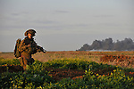 Israel-Gaza border 2009<br />
