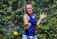 Hilversum, Netherlands, August 6, 2018, National Junior Championships, NJK, Sterre Fleur Moerdijk (NED)<br /> Photo: Tennisimages/Henk Koster