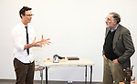 Tom Cavanagh, Judd Hirsch in rehearsal for 'Freud's Last Session'. Judd Hirsch as Sigmund Freud and Tom Cavanagh as C. S. Lewis under the direction of Tyler Marchant at the Davenport Studios in New York City on December 17, 2012