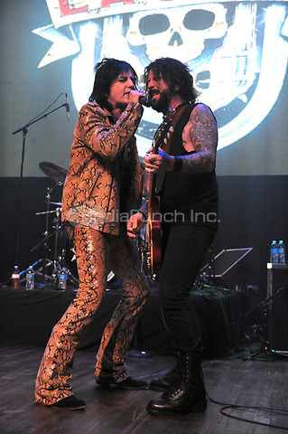 ST.CHARLES, ILLINOIS - LA Guns performing at The Aracada Theatre in St. Charles Illinois on July 6, 2017.<br /> Gene Ambo / Media Punch