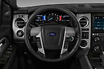 Car pictures of steering wheel view of a 2017 Ford Expedition Limited 5 Door SUV Steering Wheel