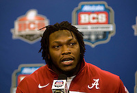 BCS National Championship - Alabama Defensive Press Conference - January 7th, 2012
