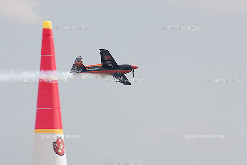 2016/06/03 Chiba, The Red Bull Air Race World Championship 2016 made it's 3rd stop in Chiba Japan.<br /> Practice Session Master Class, Team Hamilton, Nicolas Ivanoff FRA<br /> <br /> (Photos by Michael Steinebach/AFLO)