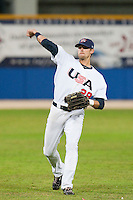 24 September 2009: Buck Coats of Team USA warms up prior to the 2009 Baseball World Cup final round match won 5-3 by Team USA over Cuba, in Nettuno, Italy.