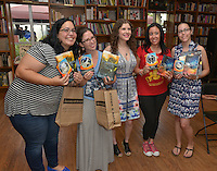 Coral Gables, FL - JULY 17: Author Romina Russell real name Romina Garber discuss and sign copies of her new book 'Wandering Star: A Zodiac Novel' at Books and Books on July 17, 2016 in Coral Gables, Florida. Credit: MPI10 / MediaPunch