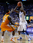 Brandon Knight being guarded by Melvin Goins in the second half of the UK vs. UT game at Rupp Arena on Tuesday, February 8, 2011.  Photo by Latara Appleby | Staff