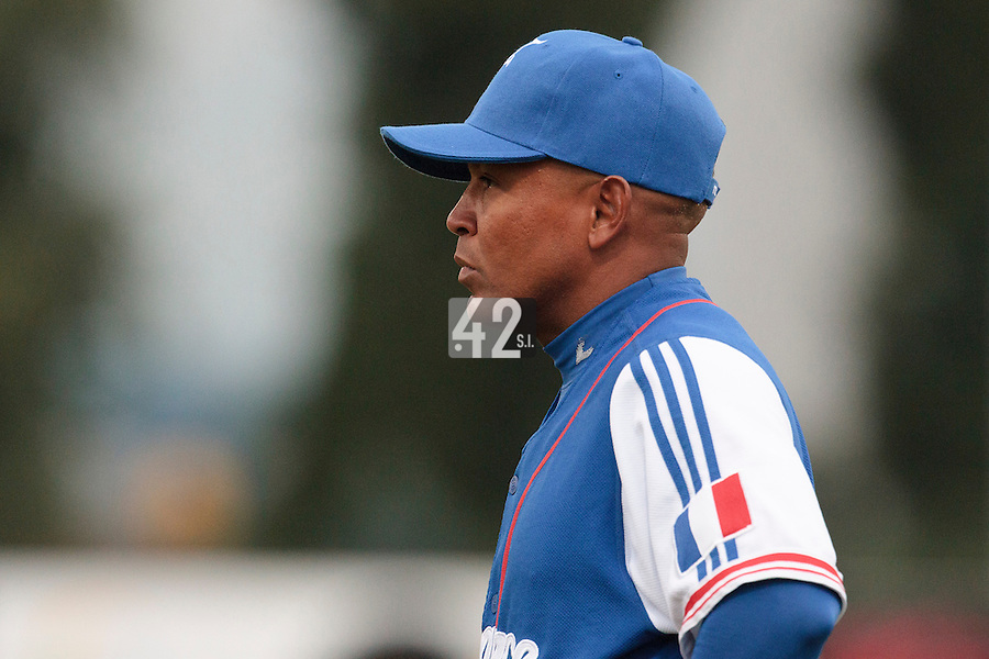 17 August 2010: Gerardo Leroux of Team France is seen during the Czech Republic 4-3 win over France, at the 2010 European Championship, under 21, in Brno, Czech Republic.