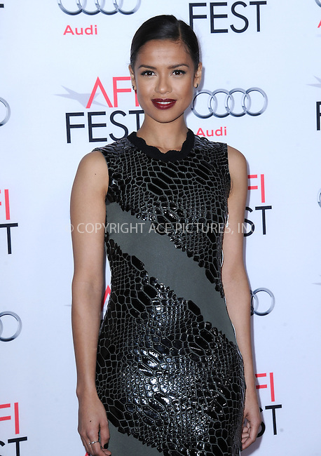 WWW.ACEPIXS.COM<br /> <br /> November 10 2015, LA<br /> <br /> GuGu Mbatha-Raw attends the AFI FEST 2015 Gala Premiere of 'Concussion' at the TCL Chinese Theatre on November 10, 2015 in Hollywood, California.<br /> <br /> By Line: Peter West/ACE Pictures<br /> <br /> <br /> ACE Pictures, Inc.<br /> tel: 646 769 0430<br /> Email: info@acepixs.com<br /> www.acepixs.comC