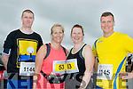 On your Marks<br /> --------------------<br /> Taking part in the ' Half on the Head ' half marathon in Ballyheigue last Saturday were L-R Michael Szabnske, Helen Finn, Anna Sheehy and Marcin Przepiora.