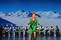 ELF THE MUSICAL opens at the Dominion Theatre, Tottenham Court Road. Picture shows: Ben Forster (Buddy),   and ensemble.