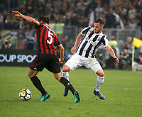 Miralem Pjanic of Juventus  during the  Coppa Italia ( Tim Cup) final soccer match,  Ac Milan  - Juventus Fc       at  the Stadio Olimpico in Rome  Italy , 09 May 2018