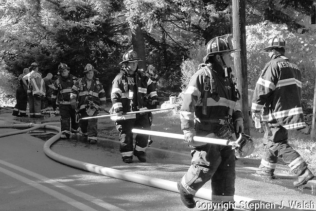 Needham 2 alarm house fire