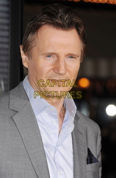 WESTWOOD, CA- FEBRUARY 24: Actor Liam Neeson arrives at the 'Non-Stop' - Los Angeles Premiere at Regency Village Theatre on February 24, 2014 in Westwood, California.<br /> CAP/ROT/TM<br /> &copy;Tony Michaels/Roth Stock/Capital Pictures