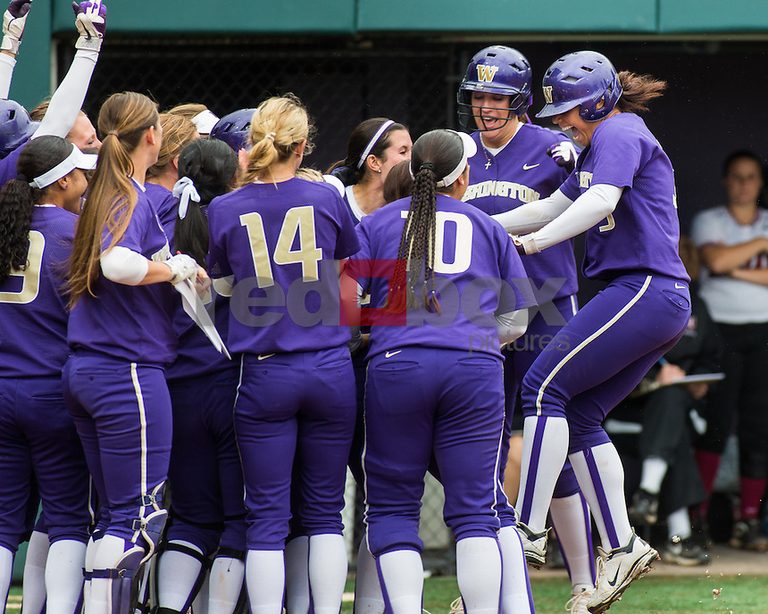 Washington Huskies defeats Harvard Crimson in the  NCAA tournament regional championship hosted by UW in Seattle on Sunday, May 20, 2012. (Photo by Dan DeLong/Red Box Pictures)