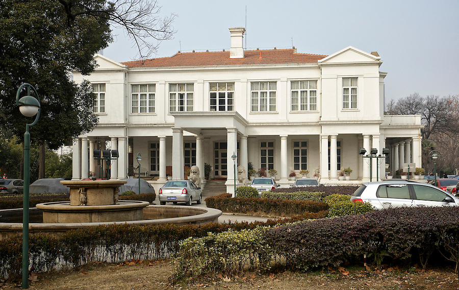 Embassy, Office & Residence, Nanjing (Nanking).  Built 1924-25 And Upgraded From Consulate To Embassy In 1935.  South Elevation.