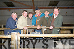 FRIENDS: Friends meet up at the Special Weanling Sale at Kingdom Mart, Mounthawk, Tralee on Tuesday evening.L-r: Kenny Jones (Kielduff), Mike Hayes (Abbeydorney), Tom O'Halloran (Ballyroe), Bernard Collins (Kielduff), Jimmy Mangan (Kerries) and Brendan Blackwell (Ardfert)..