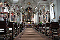 Austria, Tyrol, St. Johann in Tyrol: parish church Mary Ascension, indoor