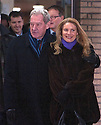 Harry Redknapp and Milan Mandaric tax evasion trial - juror considering verdicts today 8.2.12.Milan Mandaric leaves after being found not guilty smiling with his wife Gordana...Pic by Gavin Rodgers/Pixel 8000 Ltd
