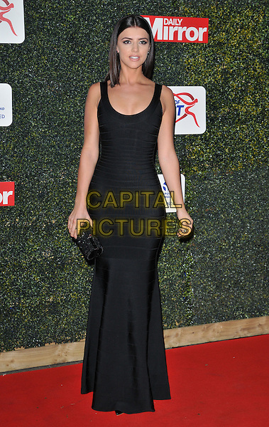 Lucy Mecklenburgh attends the Daily Mirror Pride of Sport Awards 2015, Grosvenor House Hotel, Park Lane, London, England, UK, on Wednesday 25 November 2015. <br /> CAP/CAN<br /> &copy;Can Nguyen/Capital Pictures