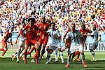 Two team group, JULY 5, 2014 - Football / Soccer : FIFA World Cup Brazil 2014 Quarter-finals match between Argentina 1-0 Belgium at Estadio Nacional in Brasilia, Brazil. (Photo by D.Nakashima/AFLO)