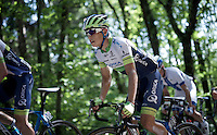Johan Esteban Chaves (COL/Orica-GreenEDGE) up the Monte Ologno (1168m)<br /> <br /> Giro d'Italia 2015<br /> stage 18: Melide (SUI) - Verbania (170km)