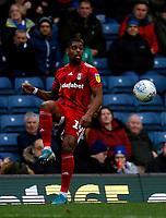 8th February 2020; Ewood Park, Blackburn, Lancashire, England; English Football League Championship Football, Ivan Cavaleiro of Fulham lays the ball off