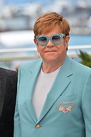 "CANNES, FRANCE. May 16, 2019: Elton John at the photocall for the ""Rocketman"" at the 72nd Festival de Cannes.<br /> Picture: Paul Smith / Featureflash"