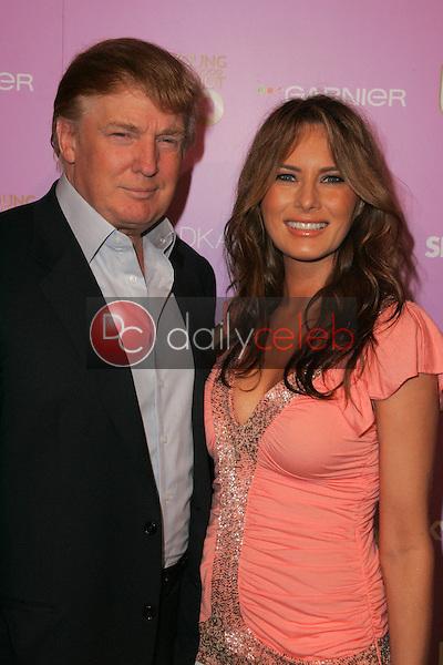 Donald Trump and Melania Knauss<br /> At US Weekly's Young Hollywood Hot 20 party, LAX, Hollywood, CA 09-16-05<br /> David Edwards/DailyCeleb.Com 818-249-4998