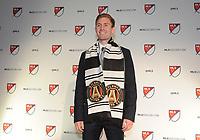 Philadelphia, PA - Thursday January 19, 2018: Jon Gallagher during the 2018 MLS SuperDraft at the Pennsylvania Convention Center.