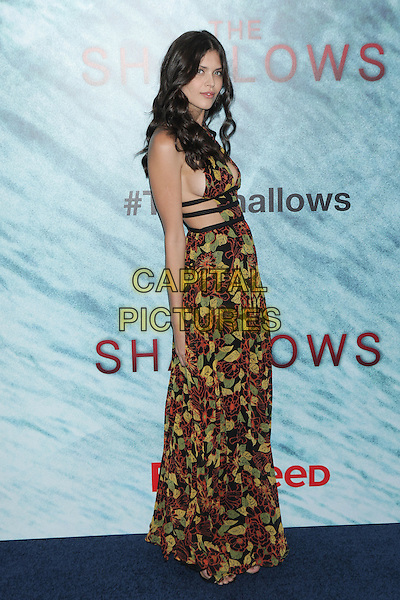 NEW YORK, NY - JUNE 21:  Thais Oliveir  attends 'The Shallows' World Premiere at AMC Lincoln Square on June 21, 2016 in New York City. <br /> CAP/MPI99<br /> &copy;MPI99/Capital Pictures