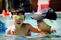 Harker Summer Camp Swim Lessons - Saratoga campus...Photo by Mark Tantrum.