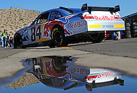 Nov. 7, 2008; Avondale, AZ, USA; NASCAR Sprint Cup Series driver Scott Speed during practice for the Checker Auto Parts 500 at Phoenix International Raceway. Mandatory Credit: Mark J. Rebilas-
