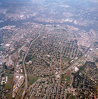 1998 September 05..Aerial..High altitude of census tracts around Elizabeth River in Portsmouth & Norfolk..Gene Woolridge.NEG# 11678 - 35.NRHA#..