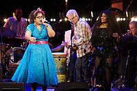 Los Angeles, CA - NOV 07:  La Mirasoul and Chaka Khan perform at 'Joni 75: A Birthday Celebration Live At The Dorothy Chandler Pavilion' on November 07 2018 in Los Angeles CA. Credit: CraSH/imageSPACE/MediaPunch