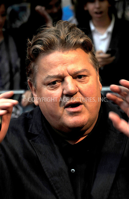 """WWW.ACEPIXS.COM . . . . .  ..... . . . . US SALES ONLY . . . . .....July 7 2009, London....Robbie Coltrane at the World Premiere of """"Harry Potter And The Half-Blood Prince"""" held at the Empire Leicester Square on July 7 2009 in London....Please byline: FAMOUS-ACE PICTURES... . . . .  ....Ace Pictures, Inc:  ..tel: (212) 243 8787 or (646) 769 0430..e-mail: info@acepixs.com..web: http://www.acepixs.com"""