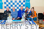 Commercial Rowing Club members at the Kerry Coastal Rowing Exhibition in Glenbeigh on Sunday.<br /> L-R Kevin Tagney, John Joe Healy, Jack McSharry, Michael Sweeney with Michael Eoin Sweeney, Catriona Sweeney.