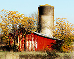 A barn located on I-55 near Como, Miss. in December 2007.