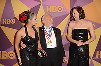 BEVERLY HILLS, CA - JANUARY 7: Buzz Aldrin, Maggie Gyllenhaal at the HBO Golden Globes After Party, Beverly Hilton, Beverly Hills, California on January 7, 2018. <br /> CAP/MPI/DE<br /> &copy;DE//MPI/Capital Pictures