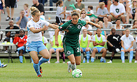 Ella Masar, Kendall Fletcher #24. St. Louis Athletica defeated Chicago Red Stars 2-0 on August 5th, 2009.