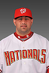 14 March 2008: ..Portrait of Robert Sandora, Washington Nationals Minor League player at Spring Training Camp 2008..Mandatory Photo Credit: Ed Wolfstein Photo